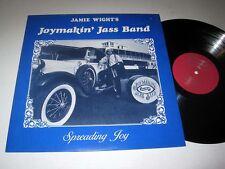 JANIE WIGHT Joymakin' Jass Band: Spreading Joy VG++/NM-