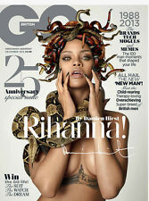 GQ Magazine UK 2013 RIHANNA Damien Hirst MARIANO VIVANCO Sopranos WILKO JOHNSON