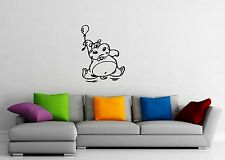 Wall Stickers Vinyl Decal Nursary Funny Hippo For Kids ig1418