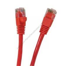 Lot2 10ft RJ45Cat5e Ethernet Lan Cable/Cord$SHdisc{RED{F