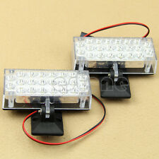 2X 22 LED  Car Truck Recovery Security Strobe Light White NEW