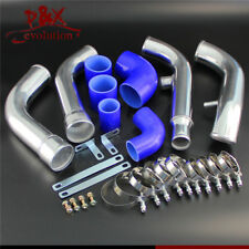 Blue Aluminum Intercooler Piping Pipe Kits for Nissan 200SX S13 CA18DET