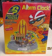 Nickelodeon Rocket Power Alarm Clock w Theme Song & Action Never Used Emson