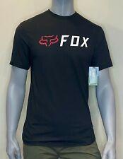 Fox Racing - T Shirt - Mens - Apex Tech Tee - Black - Fox Head