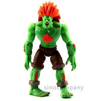 "rare JAZWARES STREET FIGHTER BLANKA Toy 4"" collection Figure movies toy gift"
