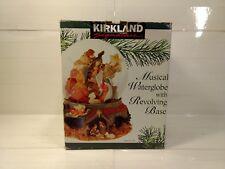 Kirkland Signature Musical Waterglobe With Revolving Base Nativity Scene hd572