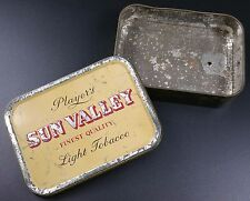 Vintage Players Sun Valley Tobacco Tin, As Found