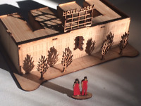 THE WHITE STRIPES HOTEL YORBA MODEL KIT UNOPENED