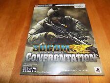 SOCOM U.S. NAVY SEALS CONFRONTATION BRADYGAMES Signature Series Guide Game Book