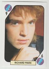 1980s Spanish Pop Star Trade Playing Card Right Here Waiting Singer Richard Marx
