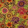 Kaffe Fassett Dream Floral PWGP148 Brown Cotton Fabric Fall 2014 Collection BTY