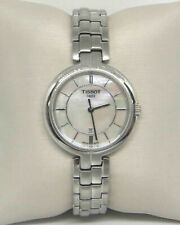 TISSOT FLAMINGO MOTHER OF PEARL LADIES WATCH T0942101111100