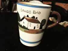 VINTAGE ROYAL WATCOMBE COTTAGE MOTTO WARE MUG LANDS END THEY DRINK LIVE LONGEST
