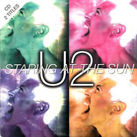 U2 ‎CD Single Staring At The Sun - Europe (VG/EX+)