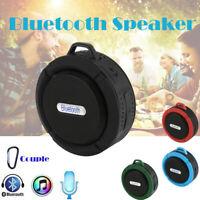 C6 Mini Portable Wireless Bluetooth Waterproof Stereo Sound Speaker Outdoor
