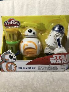Disney Star Wars BB-8 & R2-D2 Play Doh Package  Damaged A Little