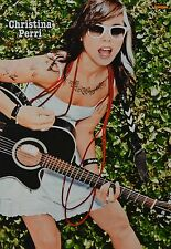 CHRISTINA PERRI - A3 Poster (ca. 42 x 28 cm) - Clippings Fan Sammlung NEU