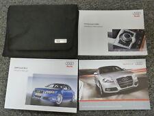 2008 Audi RS 4 Quattro Sedan Convertible Owner Owner's Manual User Guide 4.2L V8