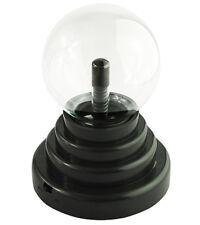 Lampe boule à plasma USB 10 cm sphère globe lumière tactile magique déco