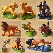 """9 pcs The Lion King Figures Collection Movie Simba Animal 3"""" Toy Set Cake Topper"""