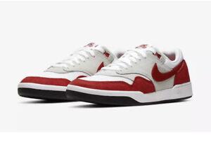 NEW Nike SB GTS Return Premium Red/ White CK3464 600 SZ 8.5 shoes men's