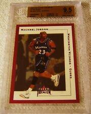 MICHAEL JORDAN 2001 FLEER PREMIUM STAR RUBIES RED FOIL #5 SER #016/100 BGS 9.5
