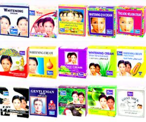 YOKO Facial Whitening Herbal Cream UV Protection Lightening Perfect Foundation