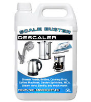 SCALE BUSTER Limescale Remover for Kettle Steam Iron Shower Head Coffee Machine