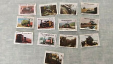 MATCHBOX LABELS - UK ENGLAND WALES RAILWAYS TRAIN ENGINE - 13 LABELS