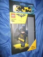THE BATMAN MOVIE LEGO Journal Set #853649 w/Stud Base on Cover
