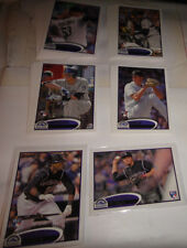 COLORADO ROCKIES TWO COMPLET TEAM SETS, 2012 & 2014 TOPPS, SERIES 1, 2 & UPDATE