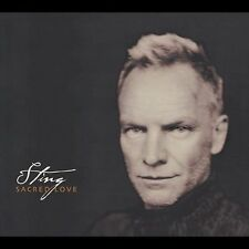 Sacred Love by Sting (CD, Sep-2003, A&M (USA)) - Disc Only - Free Ship