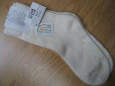 Textiles Vertrauen Öko Haussocken weiß Größe 39-42 neu