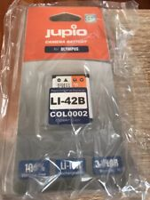 Jupio Camera Battery For Olympus LI-42B Brand New Sealed 650mAh Li-ion