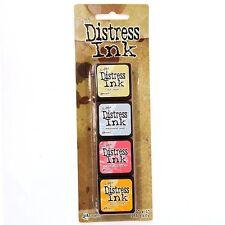 Tim Holtz Distress Ink Mini Pad Kit #7 TDPK40378