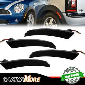 For 2007-2015 Mini Cooper Front Rear Left & Right Side Marker Light Pair Set