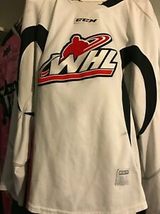 WHL GAME USED PRACTICE HOCKEY JERSEY