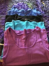 New Faded Glory Womens Plus Camisole 5X  Royal Blue 30-32W Top Shirt Blouse Cami