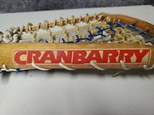"CRANBARRY Wooden Lacrosse Stick 43.5"" TS HATTERSLEY'S MADE IN ENGLAND VIKTORIA"