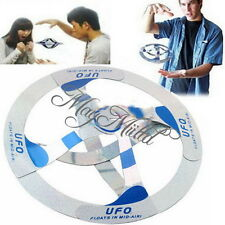 Amazing Magic UFO Floating Flying Hovers Disk Saucer Trick Toy Prop New CAEM