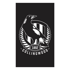 Official AFL Collingwood Magpies Supporters Wall Cape Banner Flag 90 x 150 cm NL