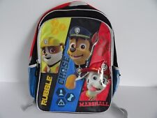 """Pawpatrol Rubble Chase Marshall Backpack School Bag 16"""" Accessory Innovations"""