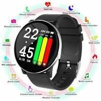W8 Sport bluetooth Smart Watch Heart Rate Oxygen Blood Pressure Tracker Qua Y0V8