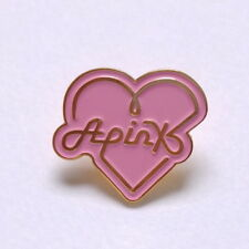 Kpop K-pop APINK  Korea Idol Goods Logo Wappen Metal Badge Free Gift