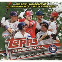 2017 Topps Holiday Baseball Complete Your Set Pick 25 Cards From List