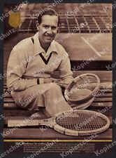 Norbert Leonard Gottfried von Cramm Tennis Davis-Cup Berlin LTTC Rot-Weiß 1951