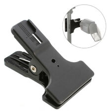 New Dual Spring Clamp Clip Hot Cold Shoe Mount For Camera Flash Speedlight