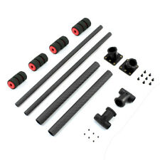 T Type Landing Gear Skid Quick Install Carbon Fiber for FPV Wheelbase RC Drone