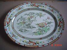 Powell Bishop And Stonier Stunning Medium Platter Circa 1880 HONG KONG