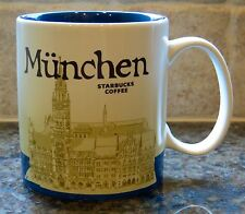 NWT Starbucks MÜNCHEN MUNCHEN MUNICH Germany Global Icon City Collector Mug MiT